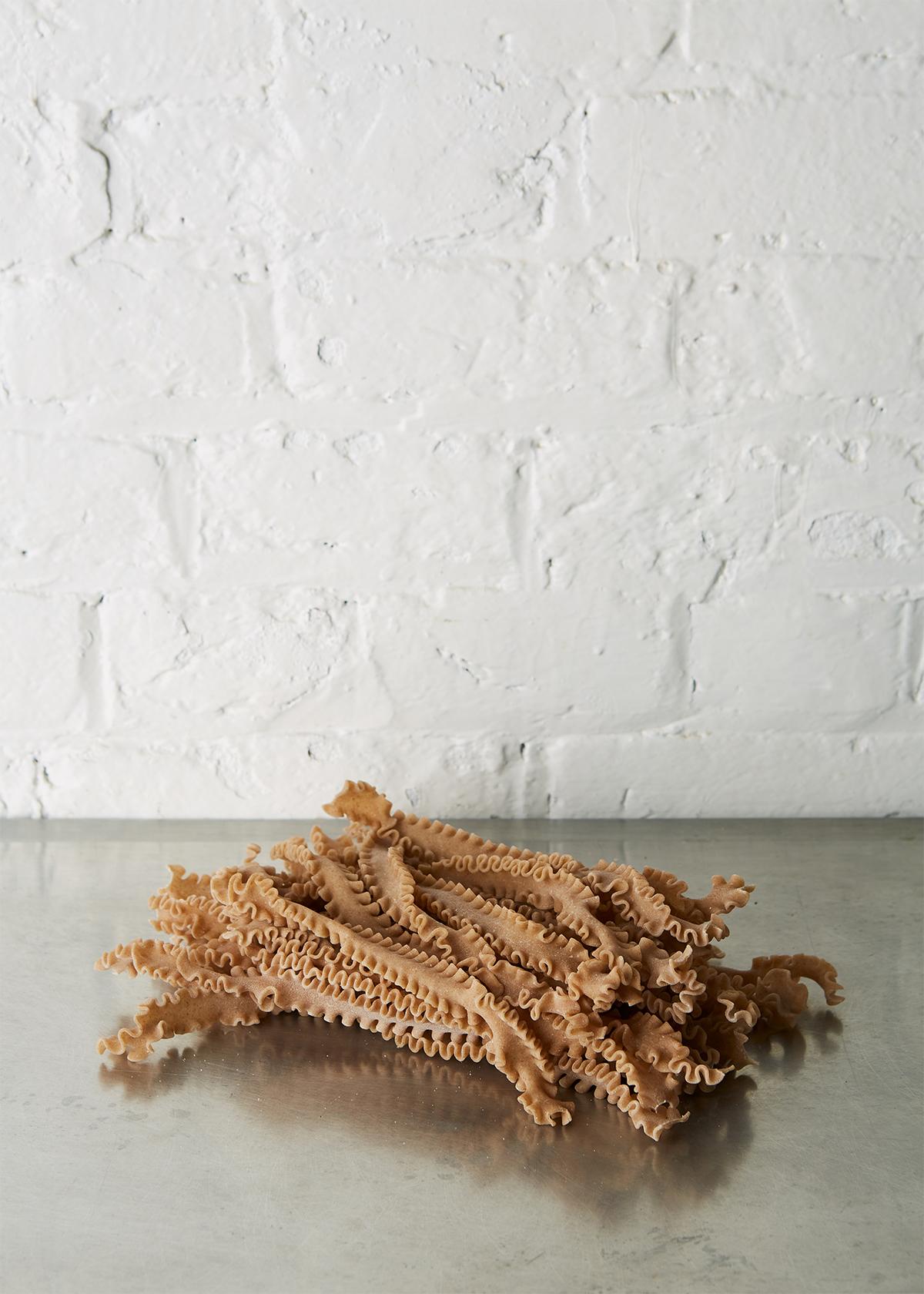 Fresh Mafaldine pasta